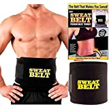 Cinta Faixa Abdominal Sweat Belt Auxiliar Red. Medidas Sweet