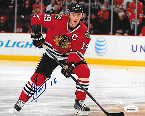 Jonathan Toews Autographed Signed Chicago Blackhawks 8x10 Photo Autographed Signed Hawks JSA 2