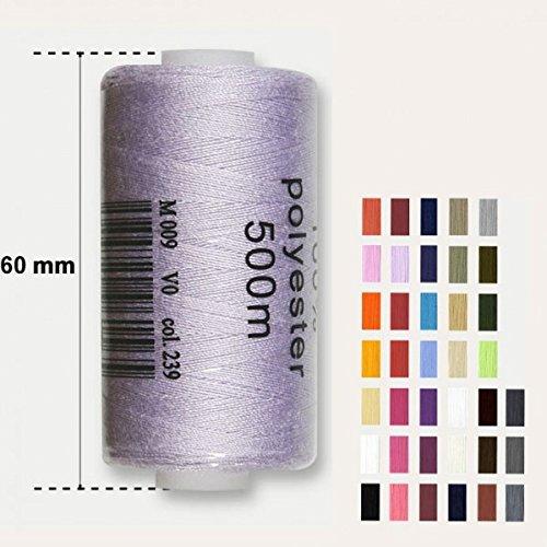 Bobine 500 m/ètres Polyester Coloris Beige Clair