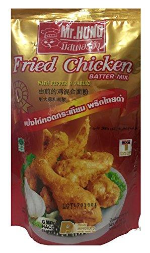 Mr Hung Fried Chicken Batter Mix with Pepper & Garlic 500 g (1.1 (Garlic Chicken)