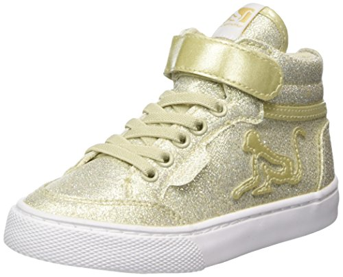 DrunknMunky Boston Panet Oro Hohe Gold Mädchen Sneaker rvBOqrw