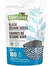 Everland Organic Sesame Seeds Black, 400gm