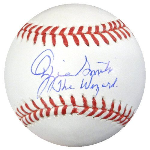 awlings Official Major League Baseball St. Louis Cardinals The Wizard - PSA/DNA Authentication - Autographed MLB Baseballs (Smith Hand Signed)