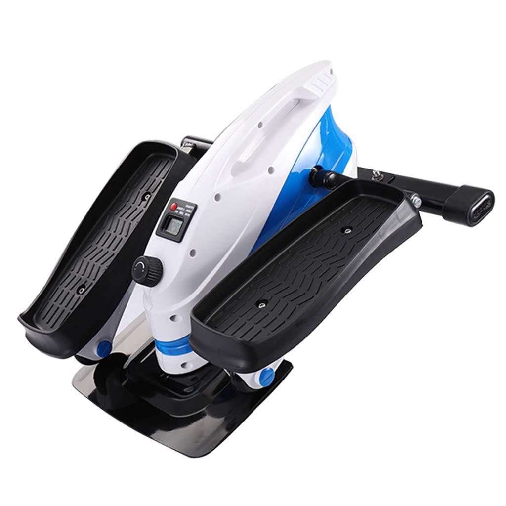 ステッパーホームミュートストーブパイプの減量フィットネス機器ミニ多機能ペダルマシンスリミング楕円形のマシン (Color : Blue, Size : 43 * 43 * 28cm) 43*43*28cm Blue B07GR7VX8W