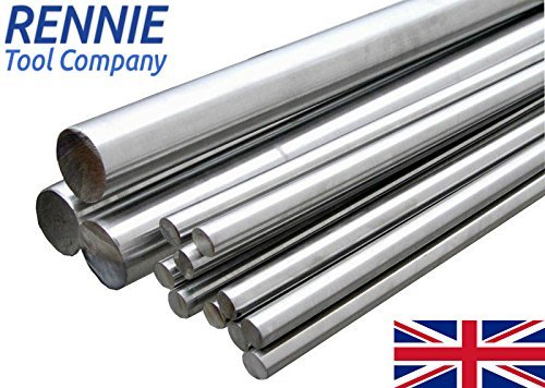 1/4' Diameter x 4' (100mm) 431 Stainless Steel Round Bar/Rod rennietool.co.uk
