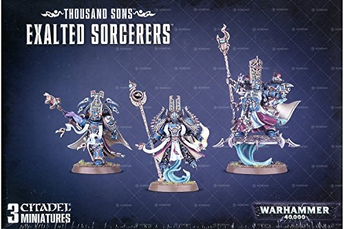 Games Workshop Warhammer 40K Thousand Sons Exalted Sorcerers