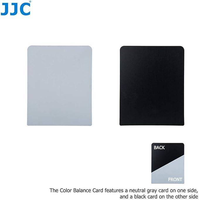 Jjc ayuda de calibración de Enfoque Automático /& Tarjeta De Balance De Color Para Cámara Con Lente Af Fine tune