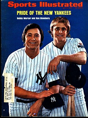 (Sports Illustrated July 2 1973 Bobby Murcer & Ron Blomberg NY Yankees)