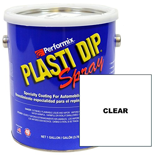 Plasti Dip Gallon Clear Sprayable 10109S