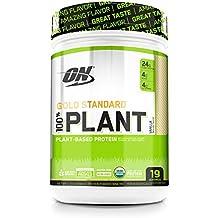 Optimum Nutrition Gold Standard 100% Organic Plant Based Vegan Protein Powder, Vanilla, 19 Servings
