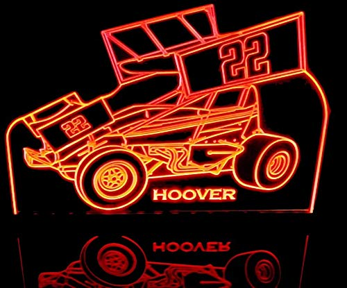 ValleyDesignsND Sprint Wing Car (Choose Your Text) Award Trophy Logo Awesome 21