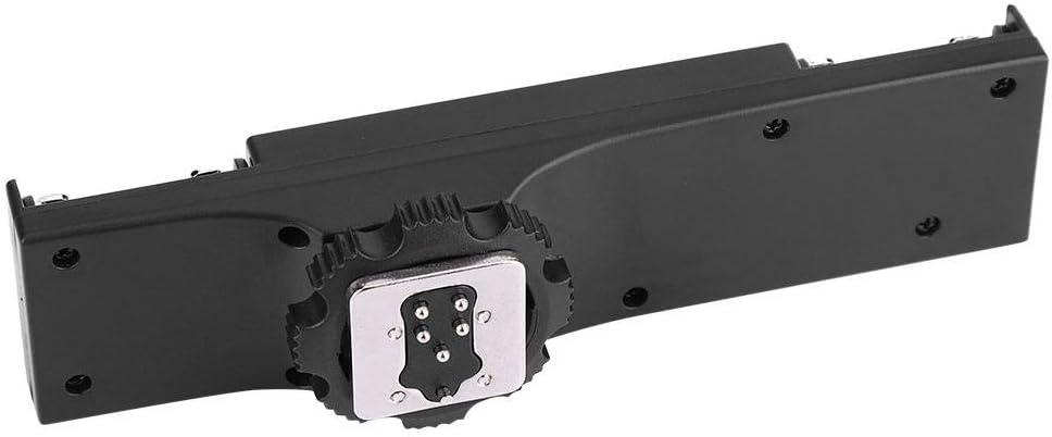 for Canon Ultralight Hot Shoe Mount Adapter for SLR Camera Camcorder Pomya Dual Hot Shoe Splitter