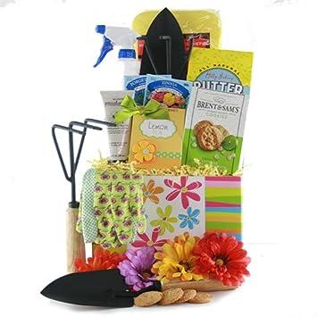 Amazoncom Garden Party Gardening Gift Basket Gourmet Candy