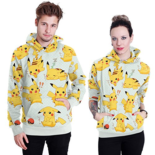 THENICE Neutral Long Sleeve Hoodies Sweatshirts lover Couples suits (XL, cat)]()