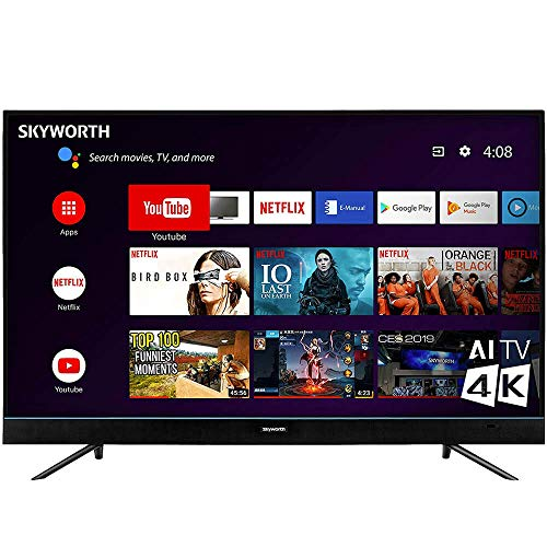 Skyworth 55U5200 55 Inch U5 Series 4K Android Smart UHD TV