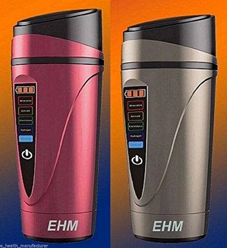 "EHM Electronic ""H-Pitcher"" Hydrogen Alkaline Water Ionizer Generator Flask. EHM Makes great-tasting Hydrogen Alkaline Ionized Water"