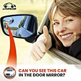 New Blind Spot Mirrors Can be Installed Adjustable