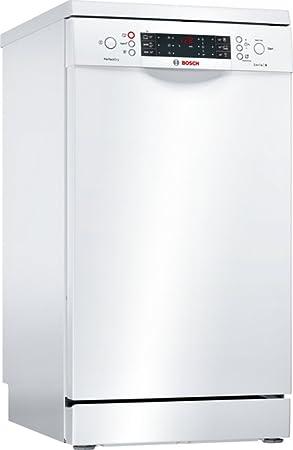 Bosch Serie 4 SPS66TW01E lavavajilla Independiente 10 cubiertos A+++ - Lavavajillas (Independiente, Blanco, Estrecho (45 cm), Blanco, Botones, Giratorio, ...