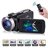 Video Camera Camcorder Full HD 1080P 30FPS 24.0MP Digital Camera...