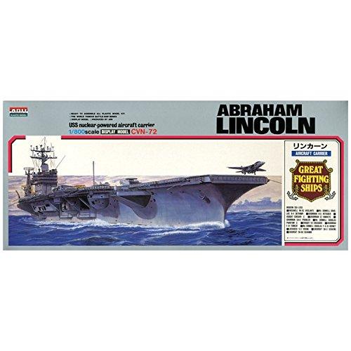 Arii-16 618165 USS Aircraft Carrier Lincoln CVN-72 1/800 scale kit -