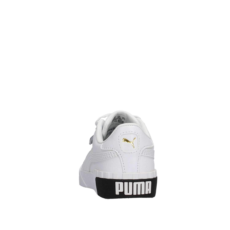 Puma Sneakers Cali PS Bianco Nero 369698 03 (30 Bianco