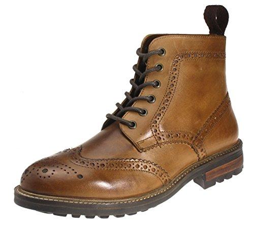 Tape Marron chaussures cuir Devlin men's Red nTawqFU8w