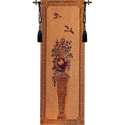 Piedestal 7891C French Woven Vertical Wall Hanging Tapestry 80 x 30''