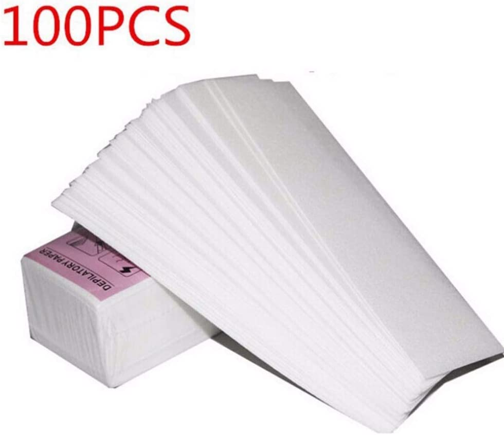 Craft Paper - 100pcs Lot Removal Nonwoven Body Cloth Hair Remove Wax Paper Rolls Epilator Strip Roll - Navy White Colors Plates Napkins Squares Gift Folders Punch Cover Doilies Eggs Notes S