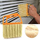 Practical Mini-Blind Cleaner Brush Vertical Window Blinds Brush...