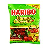 Haribo Gummi Candy, Happy Cherries, 5 Ounce Bags (Pack of 12)