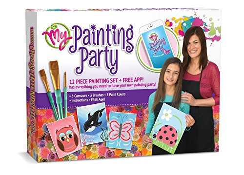Choose Friendship My Painting Party, Kids Painting Kit, Group Painting Set