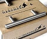 kitchen cabinet bar knobs Alpine Hardware   10Pack ~ 3