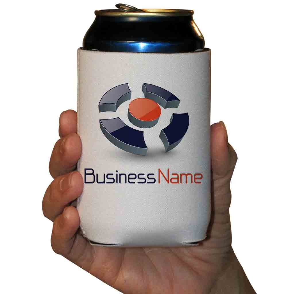 Custom Corporate Can Coolers - Printed Both Sides (500)