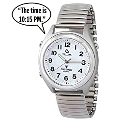 ATOMIC! Talking Wrist Watch w/Alarm Speaks the Time,Day,Date and Year