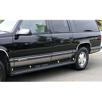 amazon com made in usa! works with 92 99 chevy suburban with fender 92 Chevy Suburban Seating works with 92 99 chevy suburban with fender flare rocker panel