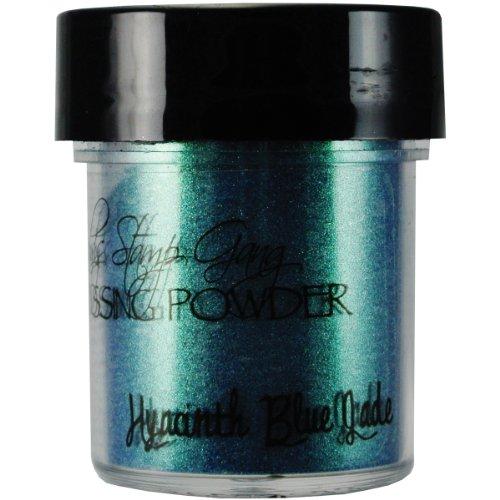 Lindy's Stamp Gang 2-Tone Embossing Powder, 0.5-Ounce Jar, Hyacinth Blue Green