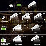 TENKOO led Solar Street Lights Outdoor 8000lm IP65