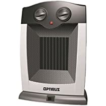 OPTIMUS H-7248 Portable Oscillating Ceramic Heater with Thermostat Home, garden & living