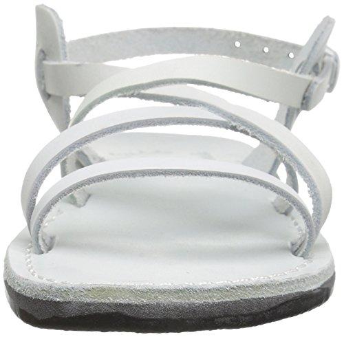 Gladiator White Tzippora Sandals Women's Jerusalem 0RqXPX