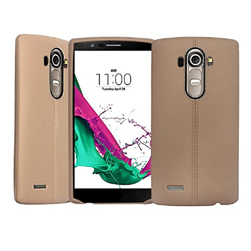 TPU Silicone Back Case for LG G4 (Brown) - 7