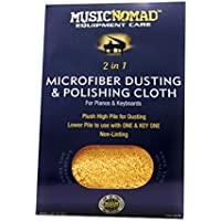 Music Nomad MN230 Microfiber Dusting and Polishing Cloth for Pianos and Keyboards