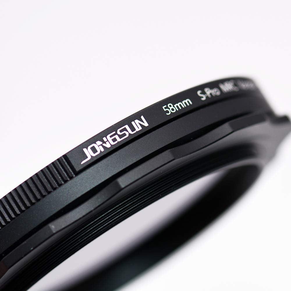Filter Neutro Della Telecamera Pi/ù Di 10 Stop ND2-ND1000 Graduato Fader JONGSUN Filtro ND Variabile 72mm S-Pro MRC 16 Strati Rivestimenti Nano