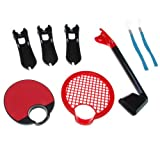 GTMax Move 3 in 1 Sports Accessory Kit Bundle + Blue Strap For Sony Playstation PS3