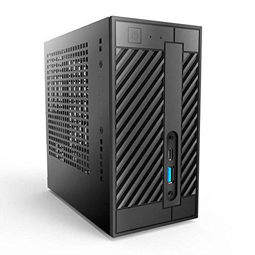 ASRock DESKMINI 110W/B/BB/US LGA1151/ WiFi/ A&V&GbE/ PC Barebone System (Black) ASRock Rack
