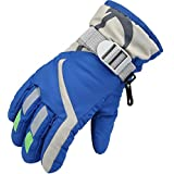 Children Ski Gloves Waterproof Gloves Winter Warm Gloves for 4~6 Years Old Boys or Girls from Zaptex
