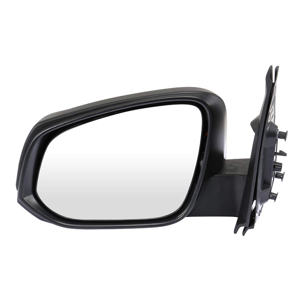SCITOO Side View Mirror Driver Side Mirror Fit Compatible with 2016 2017 2018 Toyota Tacoma Power Adjustment Manual Folding Heating TO1320356