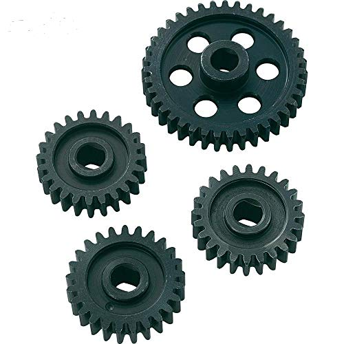 Part & Accessories Rovan 24/24/25/39T Metal Gear Set for FS Racing/MCD/FG/CEN/REELY 1/5 Scale RC Car Parts
