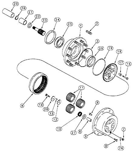 Amazon Com 175979a1 New Case Ih Backhoe Planetary Pinion Gear 580l