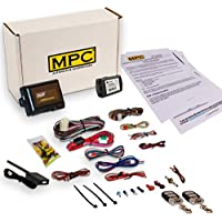 Complete Remote Start & Keyless Entry Kit For 2012-2015 Toyota Tacoma with Key to Start - includes (2) 4 Button Remotes