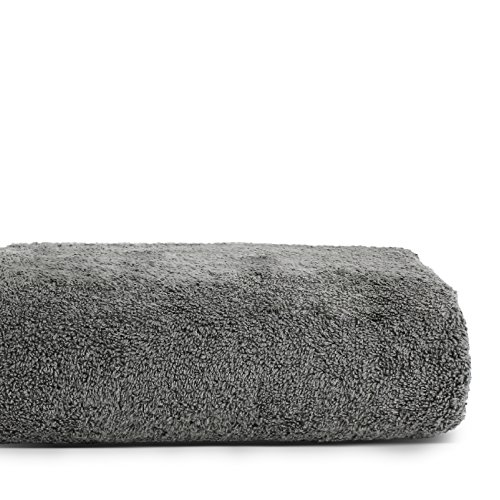 BC BARE COTTON Luxury Hotel & Spa Bath Towels 100% Cotton Dobby Border (Gray, Set of 4) by BC BARE COTTON (Image #4)